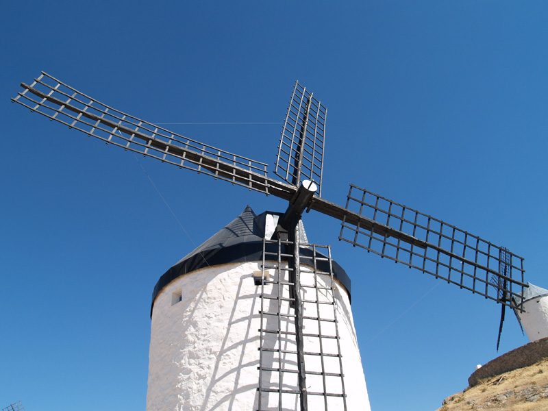 A wind-mill in Consuegra
